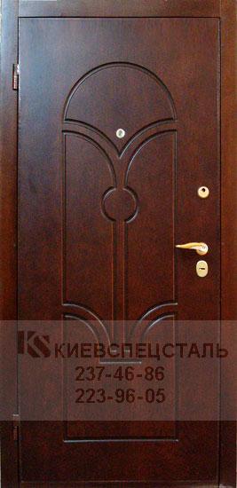 металлические двери облицовка шпоном